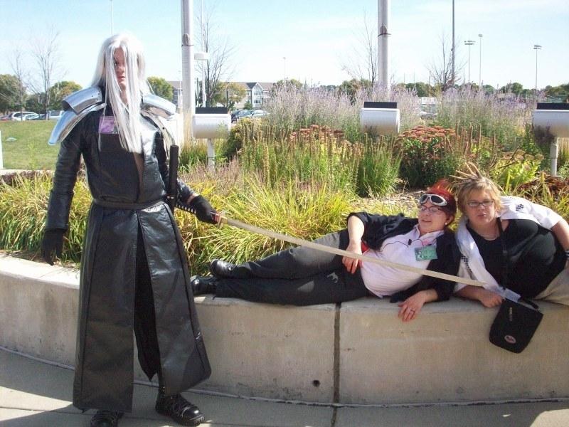 Sephiroth Reno Final Fantasy an