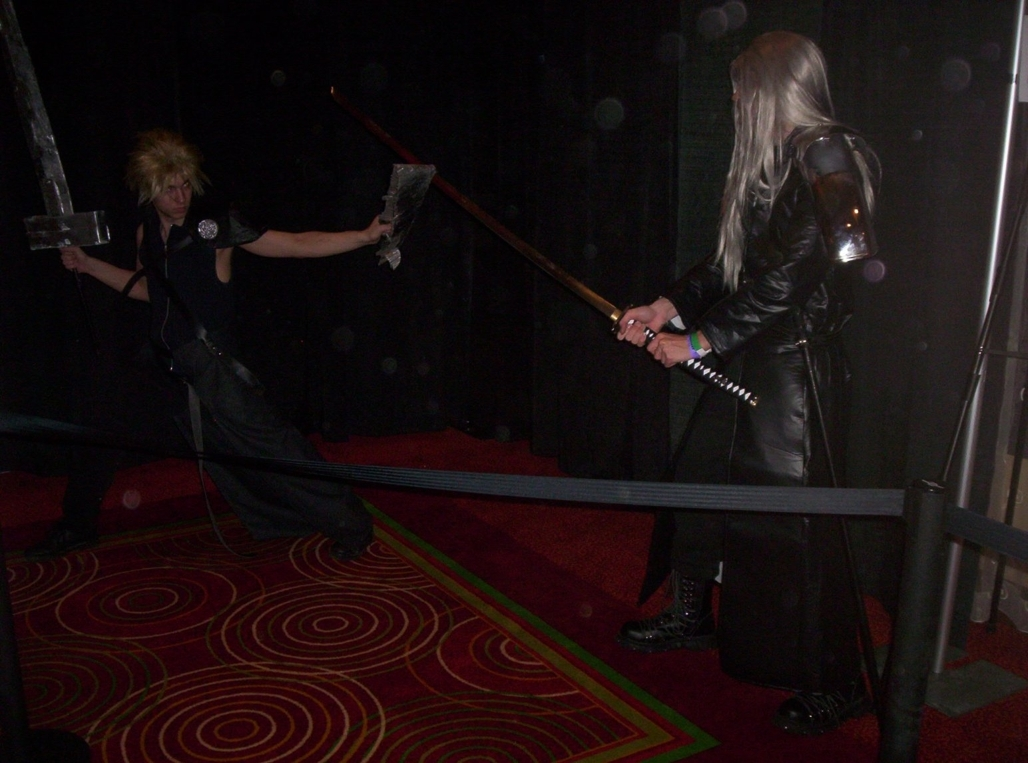 Sephiroth Battles Cloud Sephiro