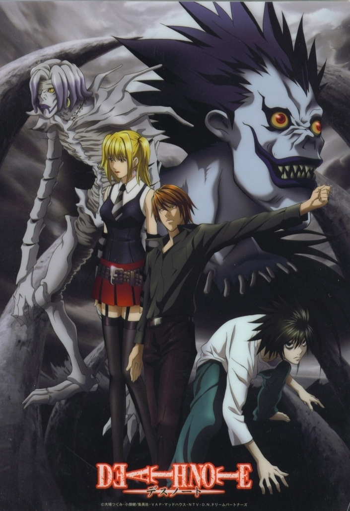 Death Note Poster from Death No