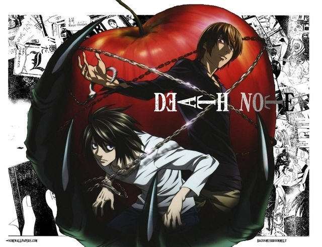 Death Note Light and L with a g