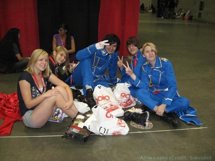 Anime Expo 2009 Cosplay Cosplay