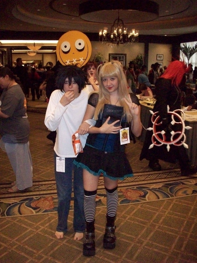 L and Misa at Anime Festival Or