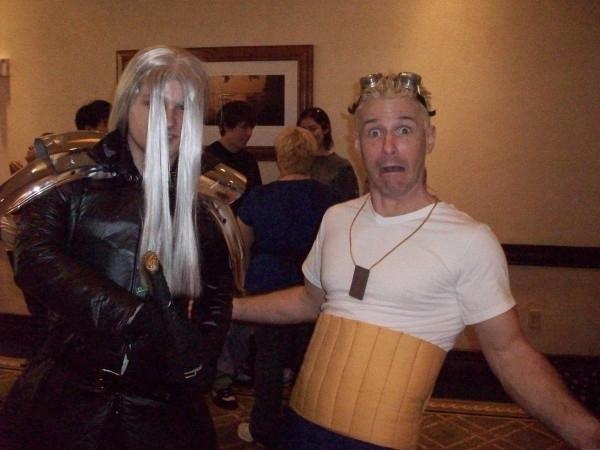 Sephiroth and Cid - Anime Festi