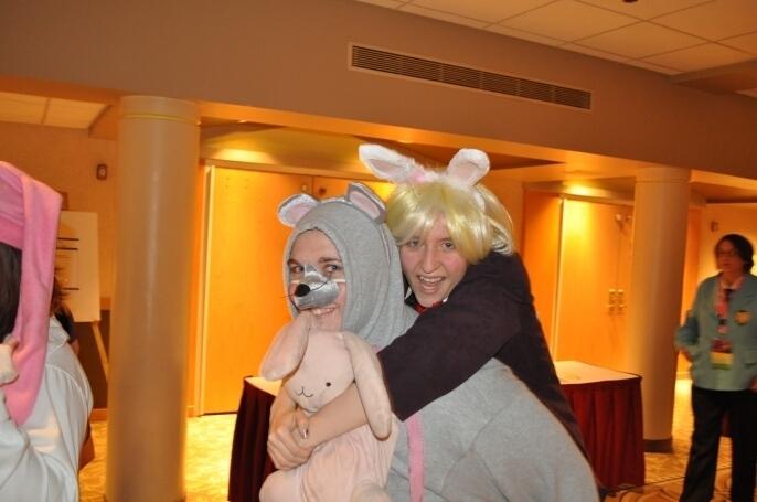 Wonderland Hunny and Mori Bishi