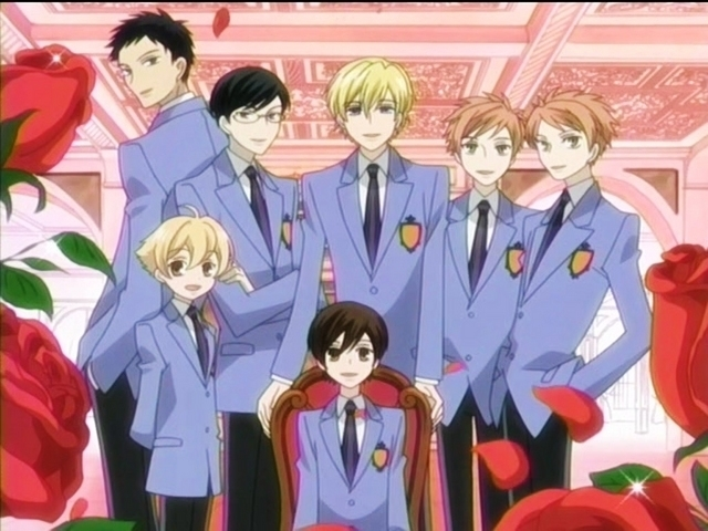 Ouran High School Cast The main