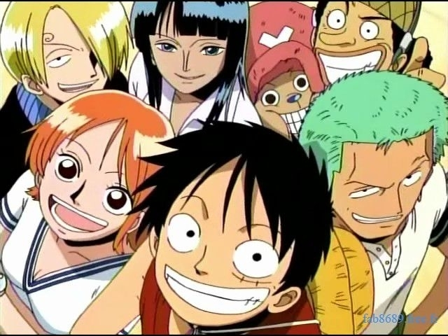 Crammed Together! One Piece!