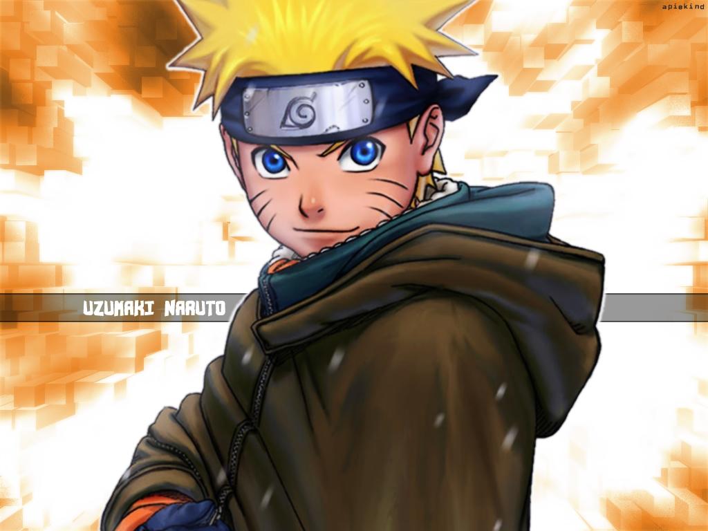 Fiery Naruto Background