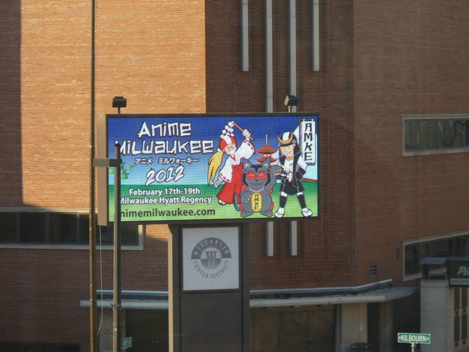 Anime Milwaukee Sign