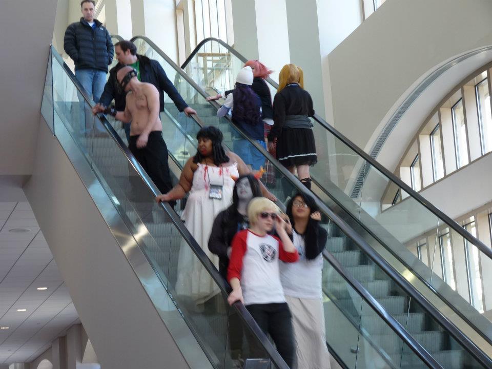 More Escalators!
