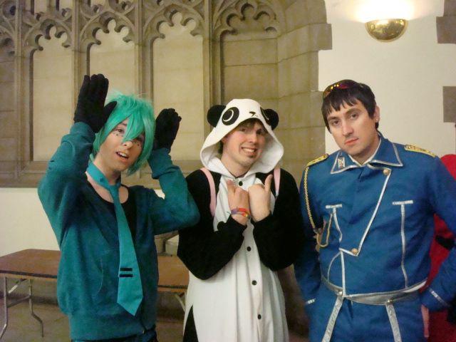 So a Vocaloid, Panda, and Alche