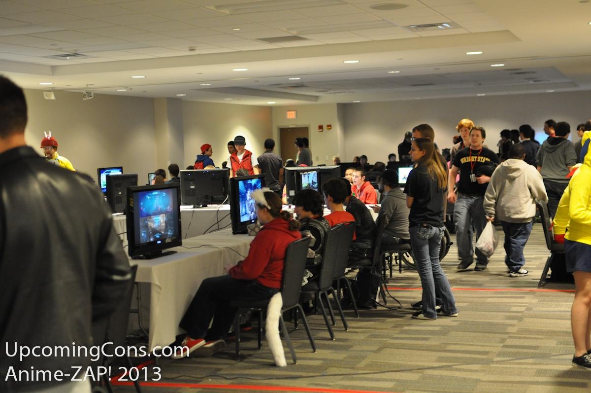 Ohayocon Gaming Room