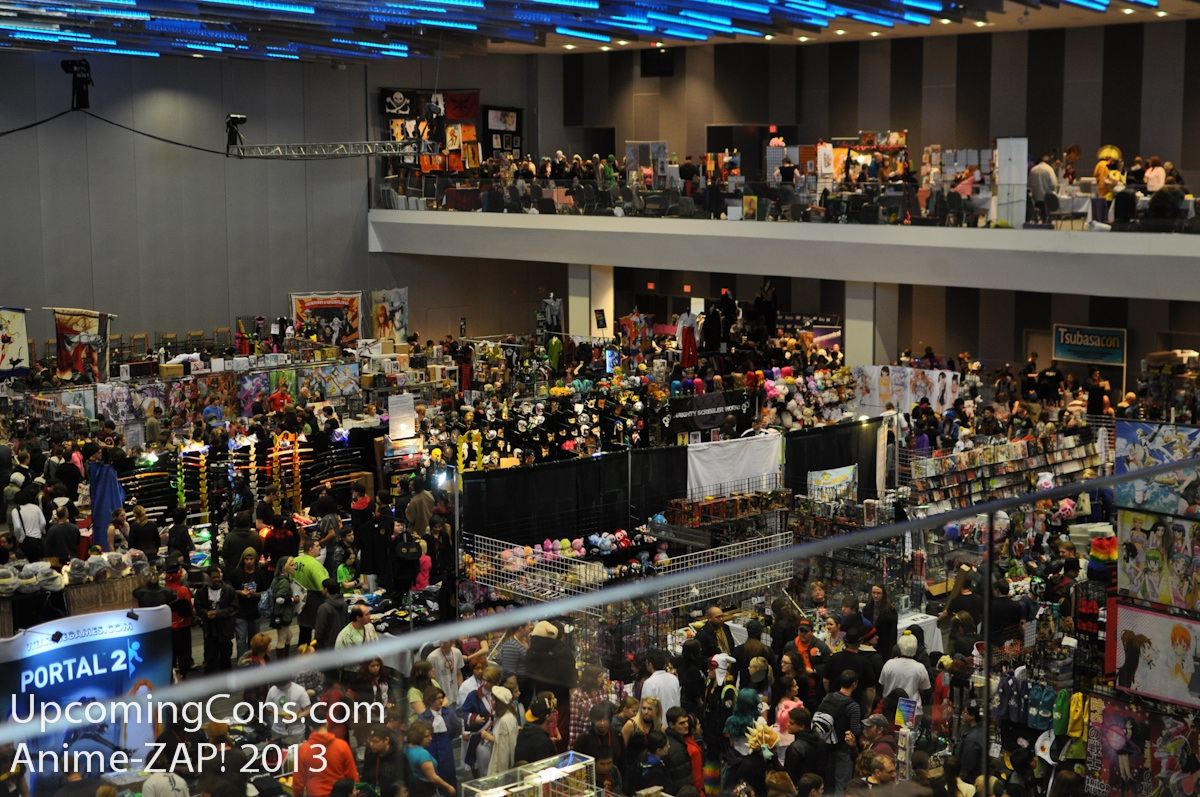 Dealers Room Overhead View The