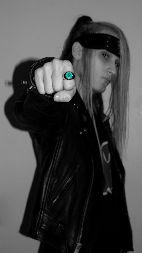 Punk Deidara.
