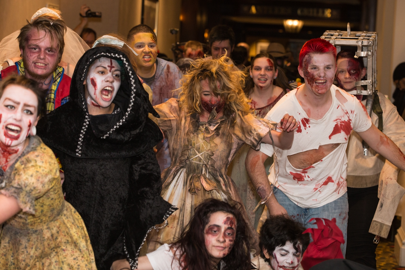 Zombie Crawl photo by: Bryan Ra