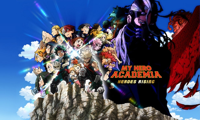 Funimation Streams English Dubbed Trailer Of My Hero Academia Heroes Rising Anime Film Ani Me